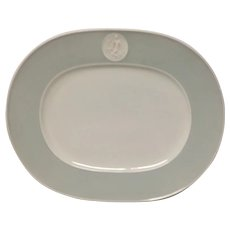 Royal Berlin, KPM Gray Rim Arkadia Large Platter