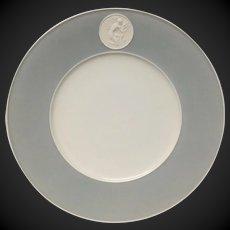 Royal Berlin, KPM Gray Rim Arkadia  Dinner Plate(s)