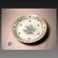 """Schumann """"Forget Me Not"""" Coupe Soup Bowl"""
