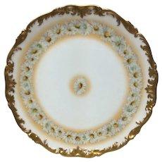 T&V Limoges Daisy Chain Large Round Platter