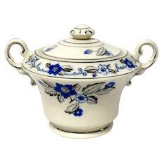 Syracuse Old Ivory China Lady Mary Pattern Covered Sugar Bowl
