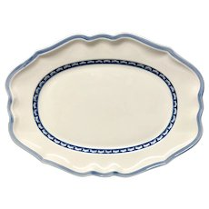 "Beautiful Villeroy & Boch Casa Azul Fine China 14"" Platter"