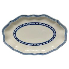 Beautiful Villeroy & Boch Casa Azul Fine China Relish Tray