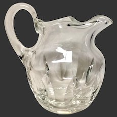 St. Louis Crystal JERSEY Water Pitcher SS France CGT Logo