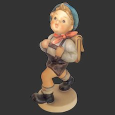 "Adorable Large Hummel ""School Boy"" Figurine 82/II TMK 6"