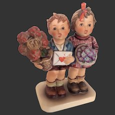 "Adorable Hummel 50th Anniversary  ""The Love Lives On"" Figurine 416"