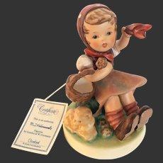 """Adorable Hummel """"Farewell or Auf Wierdersehen"""" Figurine #65, TMK 6"""
