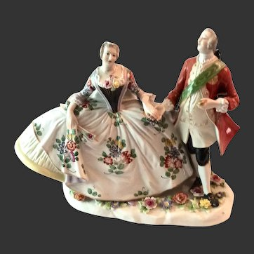 Lovely Marked Ludwigsburg Courting Couple Probably Passau