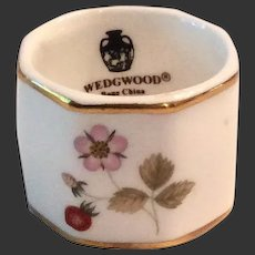 Wedgwood Wild Strawberry Bone China Napkin Ring