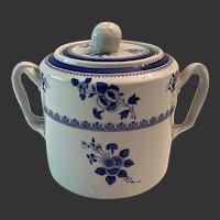 Spode Gloucester Blue Finestone Sugar Bowl