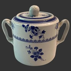 Spode Gloucester Blue Finestone Sugar Bowl