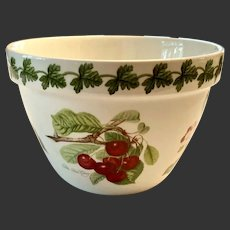 Lovely Portmerion Pomona Flower Pot Apple, Plum, Cherry, Peach Early Mark