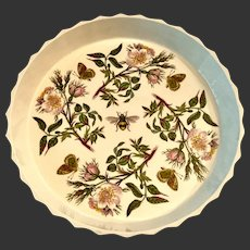 "Stunning Portmeirion Botanic Garden Large 12"" Quiche Pan Early Mark"