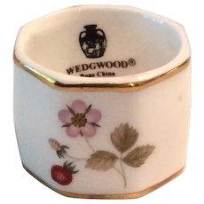 Wedgwood Wild Strawberry Bone China Napkin Ring
