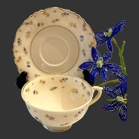 Lovely Syracuse Fine China Suzanne Cup and Saucer Set