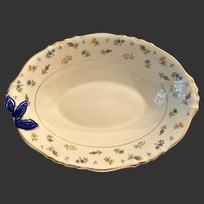 Lovely Syracuse China Suzanne Large Size Oval Vegetable Bowl