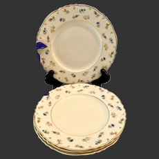 Set(4) Syracuse Suzanne Fine China Bread & Butter Plates