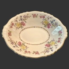 Lovely Syracuse Fine China Briarcliff Oval Vegetable Bowl