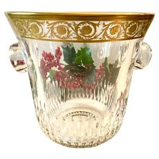 Magnificent Saint Louis Thistle Champagne Bucket