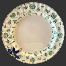 Stunning Spode Bone China Colonel Jade Y7131 Chop Plate