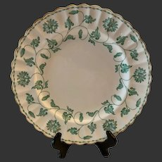 Stunning Spode Bone China Colonel Jade Y7131 Large Dinner Plate(s)