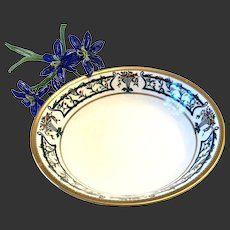 Rare Christian Dior Florissant Round Vegetable Serving Bowl