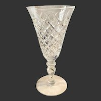 Stunning Hawkes Delft Diamonds Small Water Goblet(s)