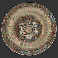 """Stunning Steuben 13"""" D. Pollard Coronet Bowl #8039"""