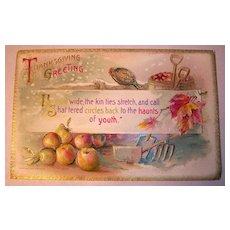 Winsch Thanksgiving Postcard