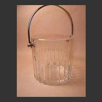 Stunning Baccarat Rotary Pattern Ice Bucket