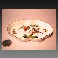 Herend Rothschild Bird (RO) Small Scalloped Tray 7705