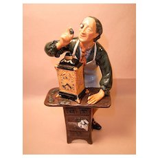 "Royal Doulton ""Clock Maker"" HN2279 Figurine"