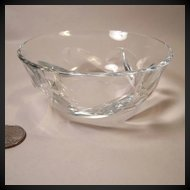 Beautiful Baccarat Constantine Pattern Individual Fruit Bowl