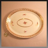 Antique (circa 1806-1825) Royal Crown Derby Small Tray