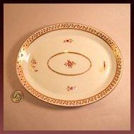 Antique (circa 1806-1825) Royal Crown Derby Small Tray