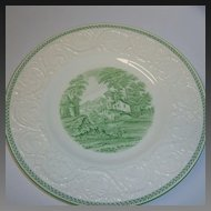 Wedgwood Torbay Green Dinner Plate