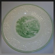 Wedgwood Torby Green Dinner Plate