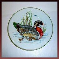 "Fitz & Floyd ""Carnard Sauvage"" Wood Duck Plate"