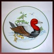 "Fitz & Floyd ""Carnard Sauvage"" Red Head Duck Plate"