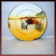 "Royal Doulton ""Coaching Days"" #E3804 Bone China Salad Plate"