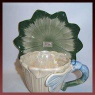 """Fitz & Floyd """"Art Nouveau"""" Cup & Saucer Set"""