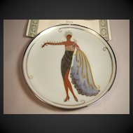 """House of Erte, Franklin Mint """"Diva II"""" with COA and Box"""