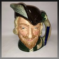"Signed Royal Doulton ""Robin Hood"" Large Toby Mug"