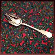 "Christofle Cluny Silver Plate OC Mark 7 1/2"" Oval Soup Spoon"