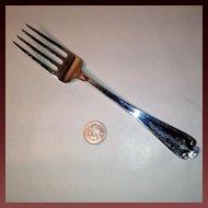 Tiffany Flemish Sterling Meat Serving Fork