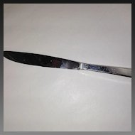 "Towle Craftsman Sterling 8 5/8"" Hollow Handled Dinner Knife"