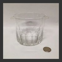 Hand Blown Early 19th Century Wine Rinser or Cooler