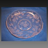 Heisey ROSE Gardenia Bowl