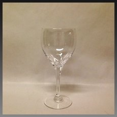 Stunning Lalique Tuileries Crystal Water Goblet