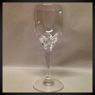 Stunning Lalique Tuileries Crystal Bordeaux Wine Goblet